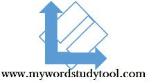 My Wordstudy Tool