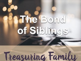 The Teachings Of God : The Bonds Of Siblings