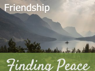 Devotion Topic : A Peaceful Friendship